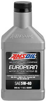 SAE 5W-40 FS Synthetic European Motor Oil